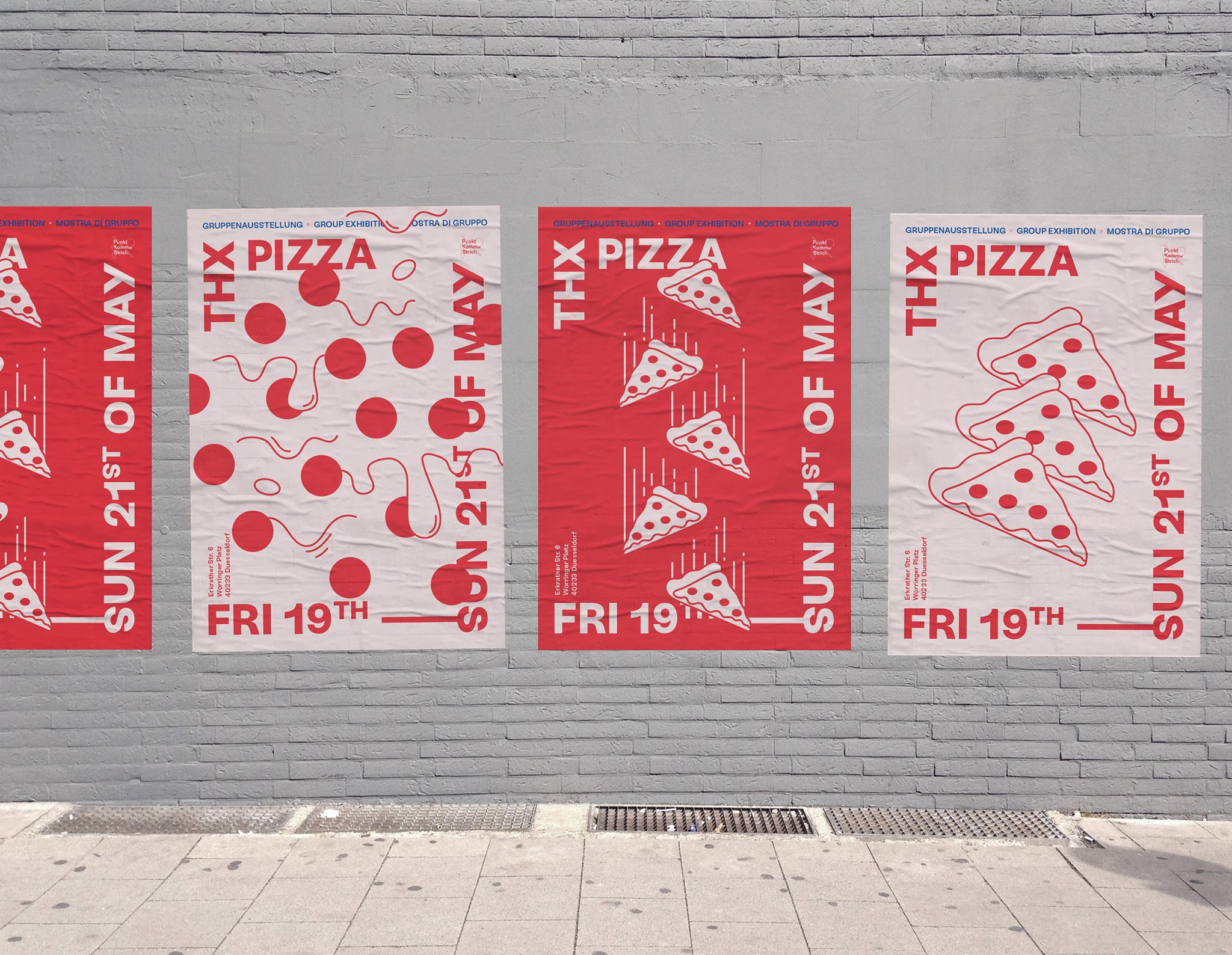 Thx pizza Poster